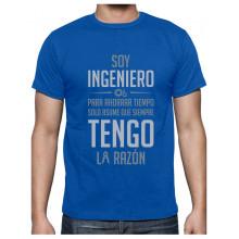 Camiseta para Hombre - Regalos para Ingenieros - Soy Ingeniero Asume Que Siempre Tengo la Razón