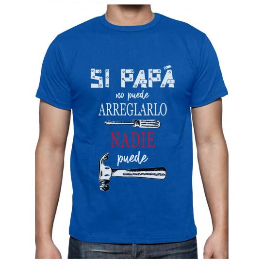 Green Turtle Camiseta para Hombre - Camisetas Hombre Originales Divertidas - Si Papá no Puede Nadie Puede