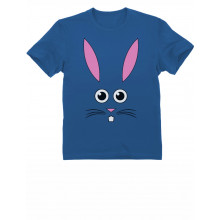 Bunny Face - Cute Little Easter Bunny - Funny Easter Kids T-Shirt