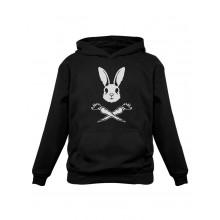 Skull Rabbit Hoodie