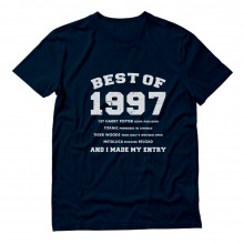 "18th Birthday Gift Idea -""Best of 1997"" Novelty"