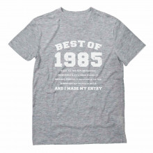 "30th Birthday Gift Idea -""Best of 1985"" Novelty"