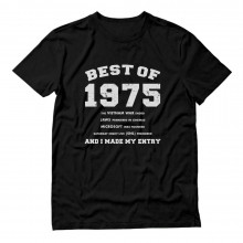 "41st Birthday Gift Idea -""Best of 1975"" Novelty"