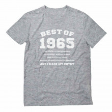 "51sth Birthday Gift Idea -""Best of 1965"" Novelty"