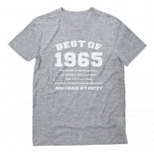 "51sth Birthday Gift Idea -""Best of 1965"" Novelty"
