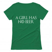 A Girl Has No Beer