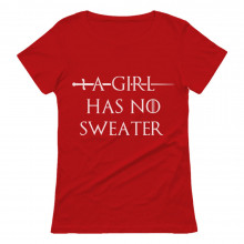 A Girl Has No Sweater Funny Christmas