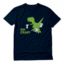 Adult Raptor Joke - T-Rex - OH CRAP! Funny Dinosaur Dino