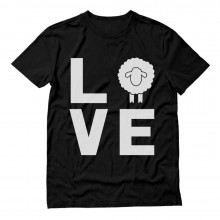 Animal Lovers Novelty Gift Idea - Love Sheep Statement