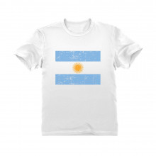 Argentina Flag Retro Vintage Style - Children