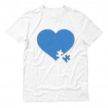 Autism Awareness Heart Puzzle