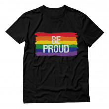 Be Proud Gay Rainbow Flag