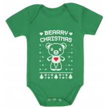 Bearry Christmas Ugly Xmas Sweater Cute Unisex Bodysuit