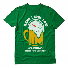 Beer Level Low Warning Please Refill