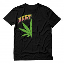 Best Buds Couple Top Pot Marijuana Leaf Lovers