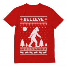 Bigfoot I Believe Sasquatch Ugly Christmas