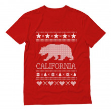 Cali Bear - California Republic Ugly Christmas Sweater