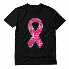 Camouflage Pink Ribbon