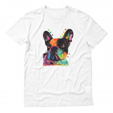 Canine Lover Rainbow French Bulldog Top Gift