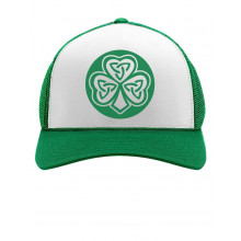 Celtic Irish Clover Cap