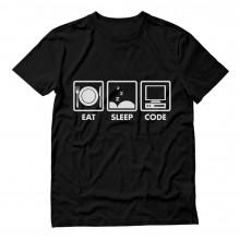 Coder Gift Idea - Eat Sleep Code - Funny Programmer