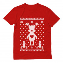 Cute Reindeer Ugly Christmas Sweater Gift Idea