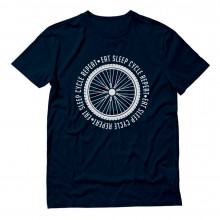 Cycling Bike Cool Gift Idea Eat Sleep Cycle Repeat