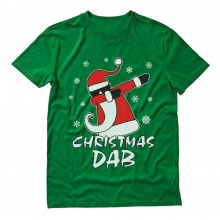 Dabbing Santa Christmas Dab Funny Xmas