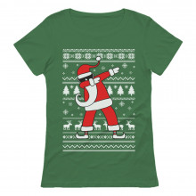 Dabbing Santa Funny Ugly Christmas Party