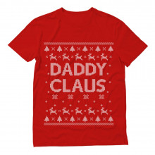 Daddy Claus Classic Holiday Father Ugly Christmas Sweater