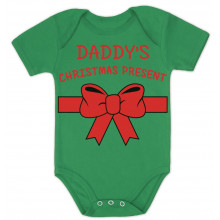 Daddy's Christmas Present - Bodysuit Cute Xmas Gift