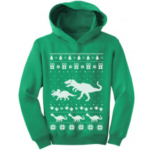 Dinosaur T-Rex Ugly Christmas Cute Holidays