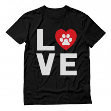 Dog Paw Print Love Dogs My Best Friend - Animal Lover