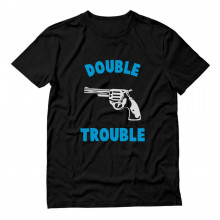 Double Trouble Gun Print