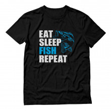 Eat Sleep Fish Repeat