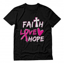 Faith Love Hope Breast Cancer Awareness