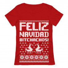 Feliz Navidad Bichachos Ugly Christmas