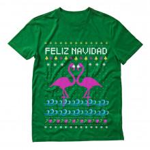 Feliz Navidad Flamingo Ugly Christmas