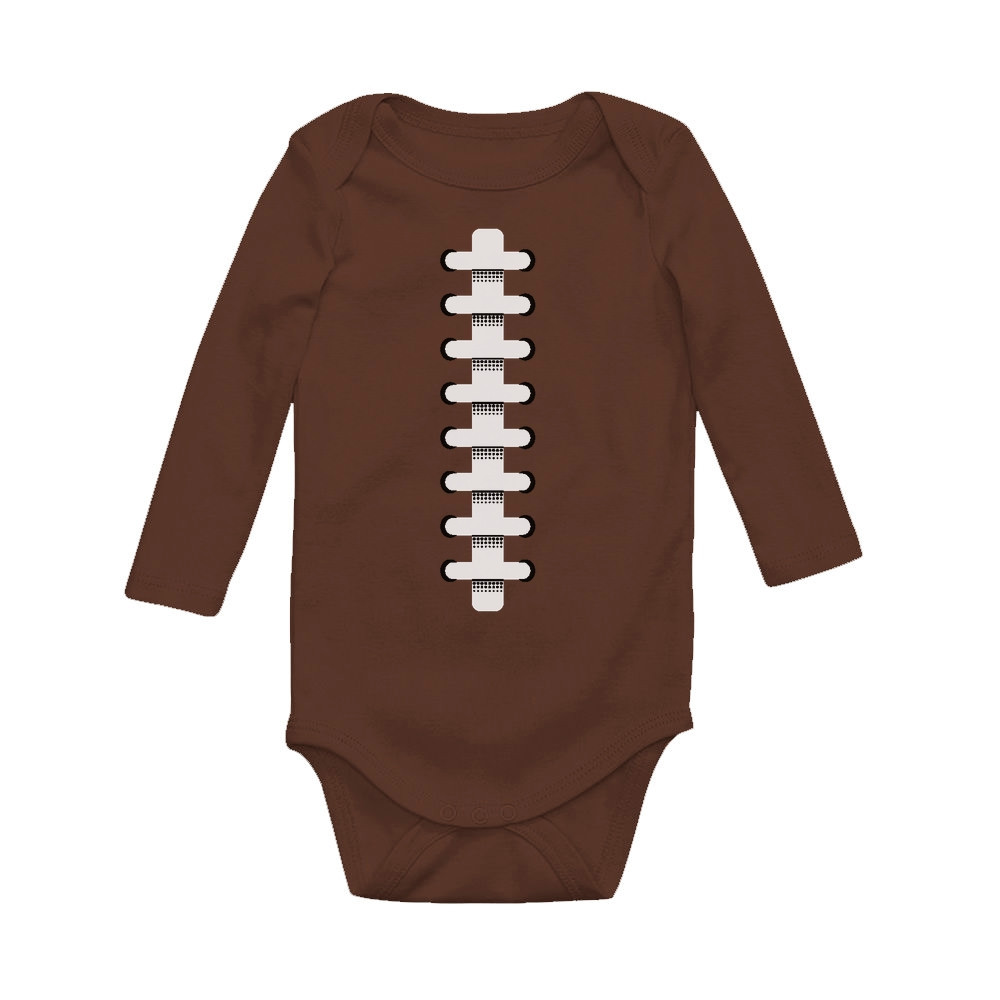 Game Day Football Fans Gift Touchdown Football Party Baby Long Sleeve Bodysuit