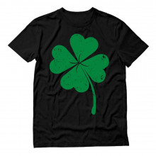 Distressed Green Shamrock Clover