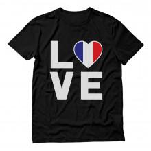 France Flag - I Love France - French Patriot Gift Idea