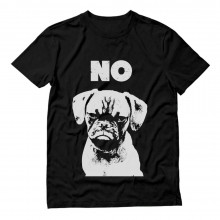 Funny Cranky Dog - Grumpy Puppy NO - Novelty