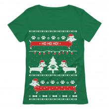 Funny Dachshund Ugly Christmas