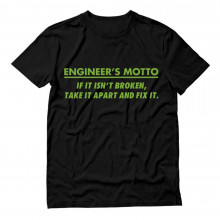 Funny Engineer's Motto