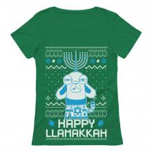 Funny Hanukkah Happy LlamaKkah Ugly Xmas