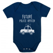 Future Police Officer Cute Unisex Bodysuit Gift Idea