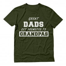 Great Dads Get Promoted To Grandpas - Best Gift Idea Funny