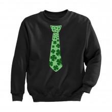 Green Clovers Tie
