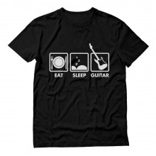 Guitar Player - Eat Sleep Guitar - Rockstar Cool Funny