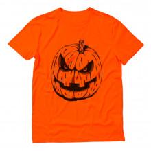 Halloween JACK O' LANTERN Evil Pumpkin Face